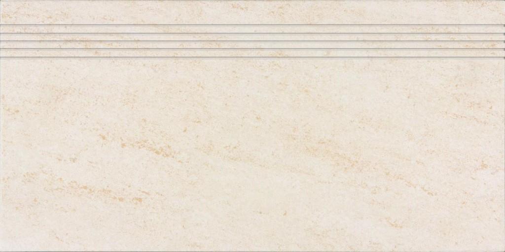 Schodovka pískovcová imitace PIETRA, 30 x 60 cm, Světle béžová - DCPSE628