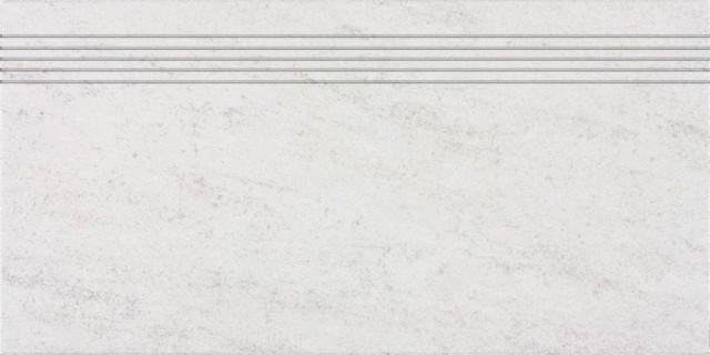 Schodovka pískovcová imitace PIETRA, 30 x 60 cm, Světle šedá - DCPSE630