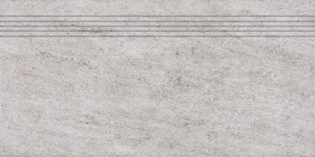 Schodovka pískovcová imitace PIETRA, 30 x 60 cm, Šedá - DCPSE631