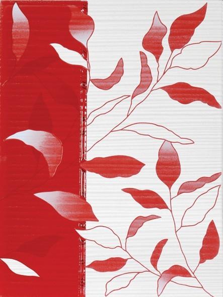 Dekor VIVA Red 25 x 33 cm