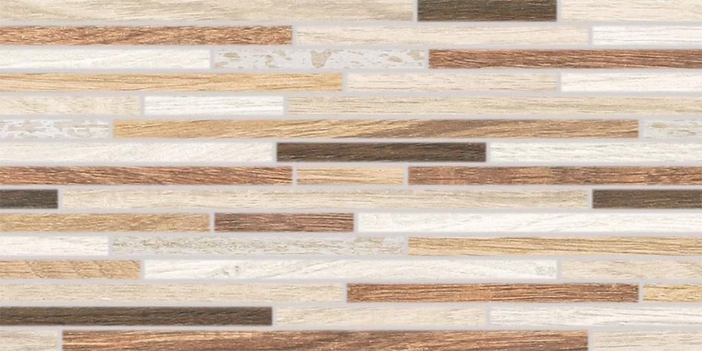 Dekor imitace dřeva BOARD, 30 x 60 cm, Bílá - DDPSE023