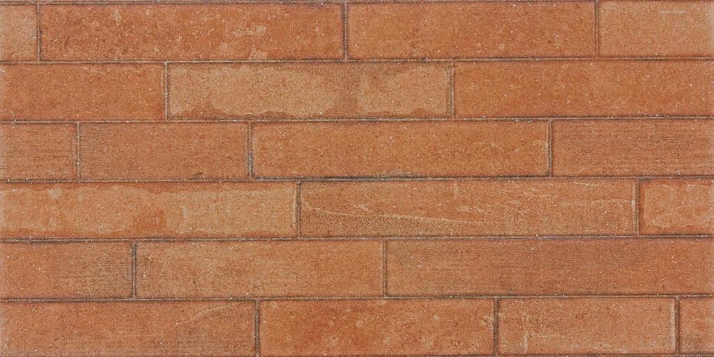 Obklad imitace cihly BRICKSTONE, 30 x 60 cm, Červeno-hnědá - DARSE689