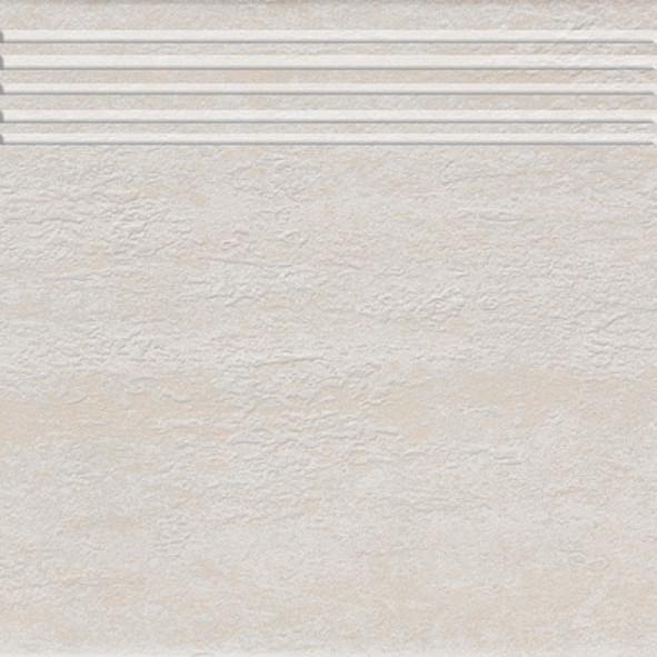 Schodovka imitace kamene TRAVERTIN, 30 x 30 cm, Slonová kost - DCP35030
