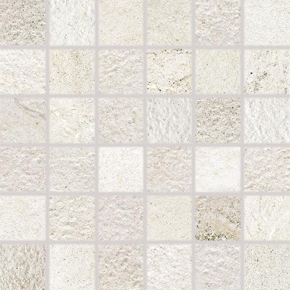 Mozaika COMO, 5 x 5 cm, Bílá - DDM05692