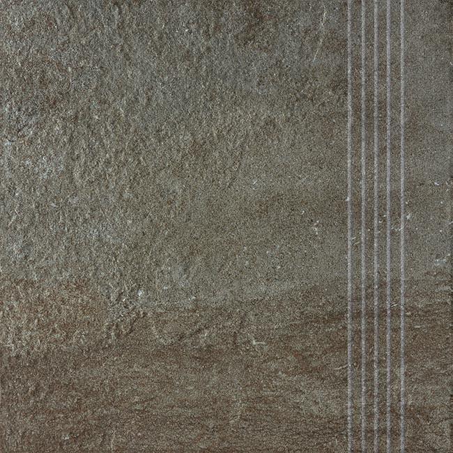 Schodovka COMO, 33 x 33 cm, Hnědo-černá - DCP3B694