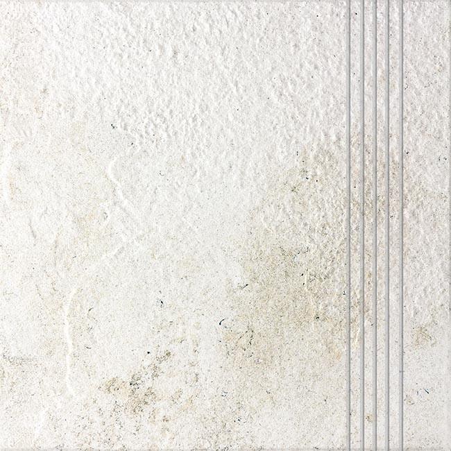 Schodovka COMO, 33 x 33 cm, Bílá - DCP3B692