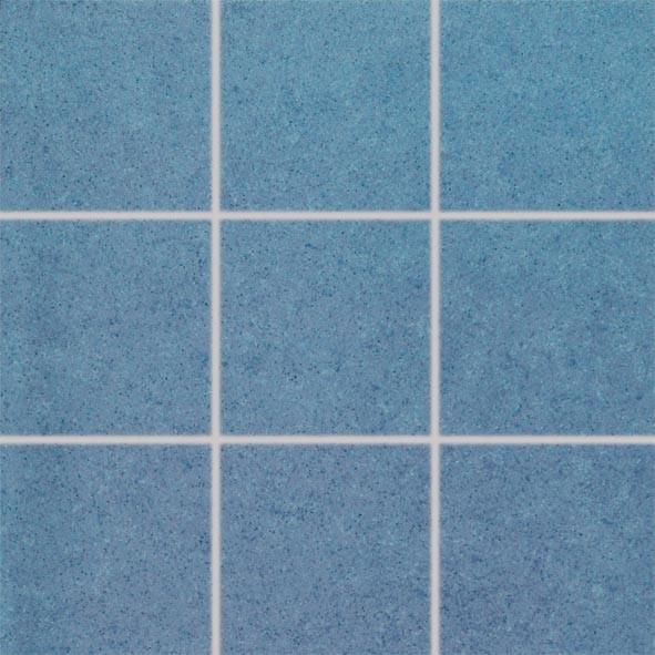 Univerzální dlažba imitace kamene ROCK, 10 x 10 cm, Modrá - DAK12646