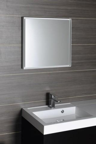 Podsvícené zrcadlo RGB LED FLOAT 55 x 55 cm