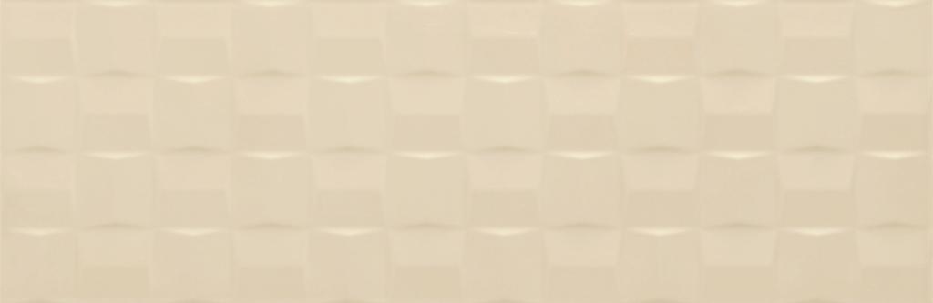 Velkoformátový dekor POTTERY Champagne Struttura Cube 3D 25 x 76 cm