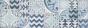 Patchwork dekor POTTERY Decoro Azulejo Light/Turq/Ocean
