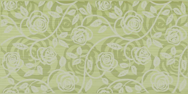 Květinový dekor ALLEGRA Fantasia Pistaccio 25x50 cm