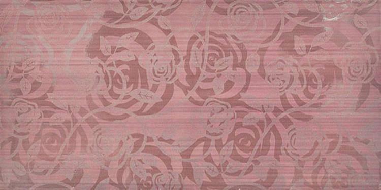 Květinový dekor ALLEGRA Fantasia Lila 25x50 cm