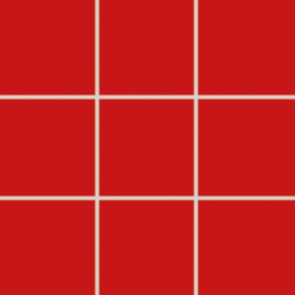 Dlažba COLORTWO, 10 x 10 cm, Červená - GAA0K359