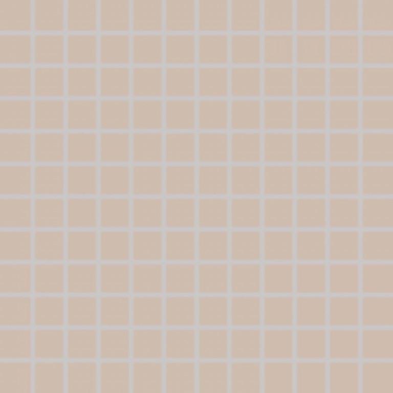 Mozaika COLORTWO, 2,5 x 2,5 cm, Béžová - GDM02108