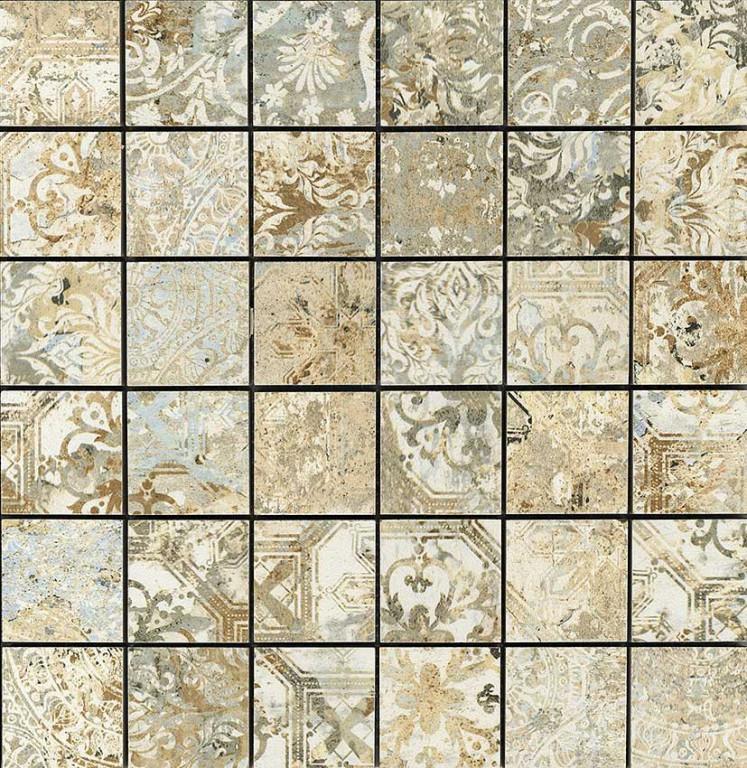 Kobercová mozaika CARPET Sand Natural Mosaico Mate 30x30