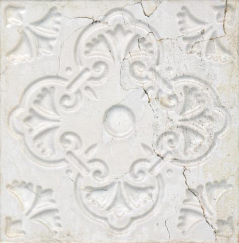 Dekorativní obklad AGED White Ornato 20x20