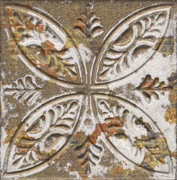 Dekorativní obklad AGED Dark Ornato 20x20