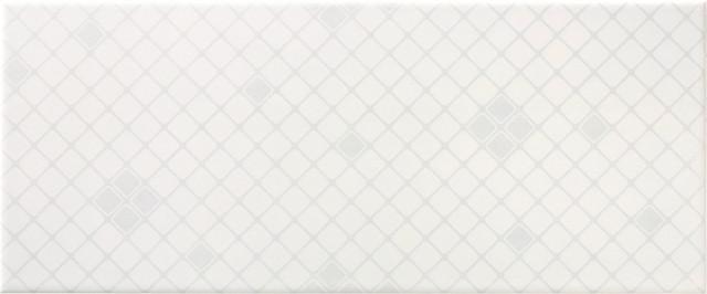 Bílý dekor LUCY White DC Mesh, 25 x 60 cm