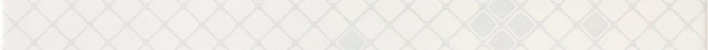 Bílá listela LUCY White L Mesh 4,5 x 60 cm