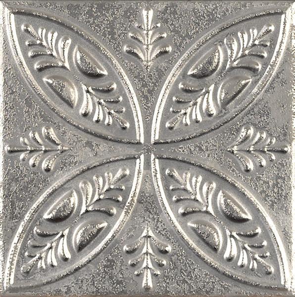 Dekorativní obklad AGED Silver Ornato 20x20