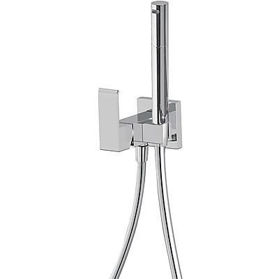Jednopáková podomítková baterie pro bidet WC TRES - CUADRO