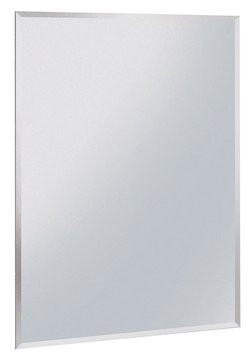 Zrcadlo s fazetou bez úchytu 50 x 90 cm 22497