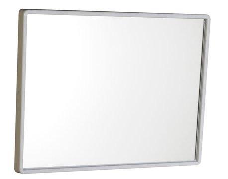 Zrcadlo s plastovým rámem - bílá 30 x 40 cm 22436