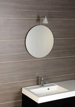 Zrcadlo kruhové bez úchytu 50 cm 22443