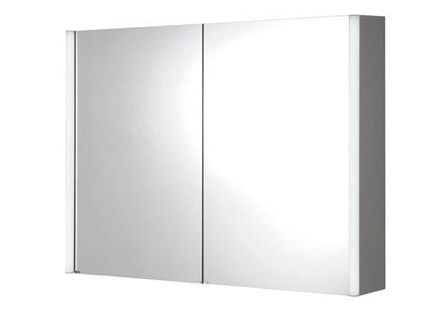 Koupelnová galerka s LED osvětlením 100 x 74,5 x15 cm ALIX