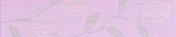 Květinová listela RONDA Viola 7,5 x 33 cm