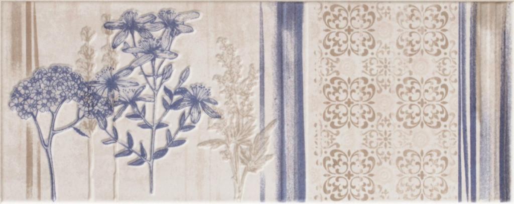 Květinový dekor CHARM White DC Flower 1 20x50
