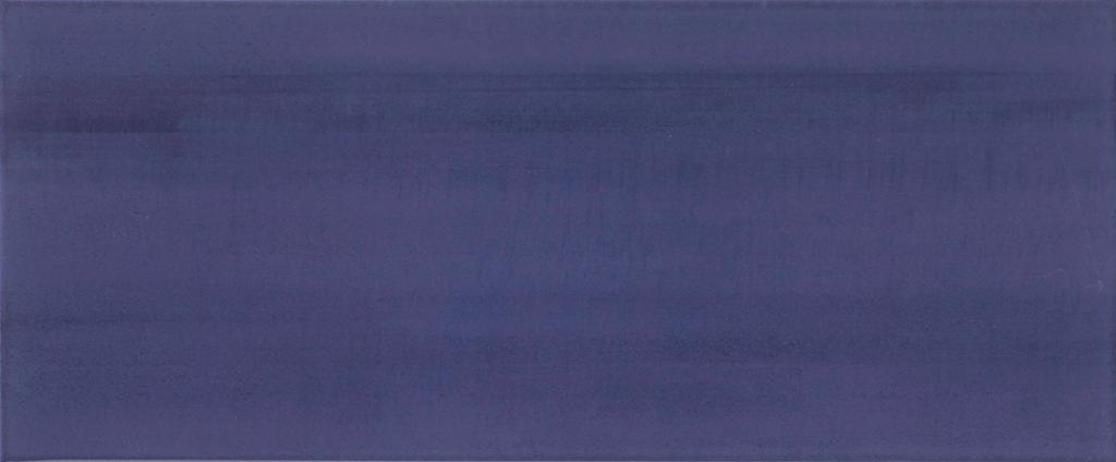Modrý interiérový obklad BLOSSOM 65 Blue, 25 x 60 cm