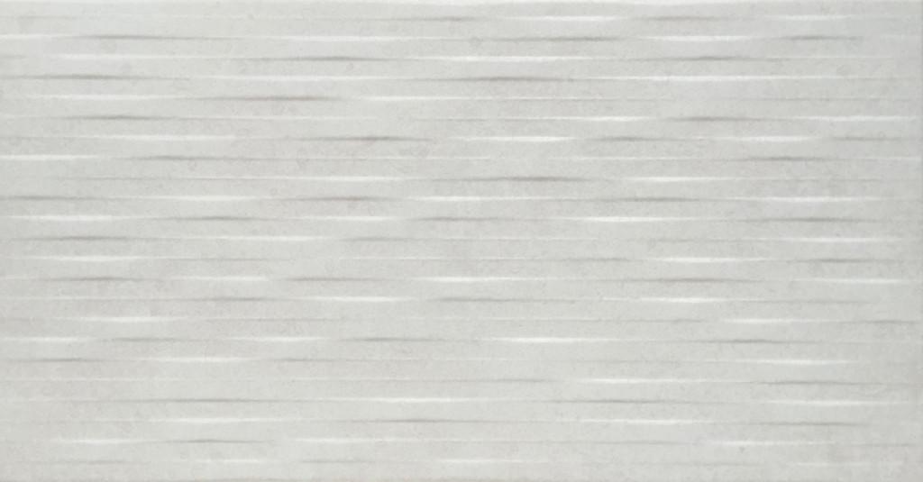 Bílý interiérový 3D dekor COVER Label Blanco 31 x 60 cm