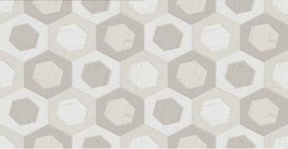 Geometrický dekor COVER Lema Marfil 31 x 60 cm