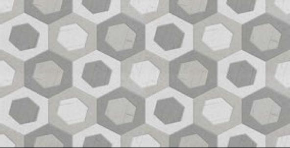 Geometrický dekor COVER Lema Gris 31 x 60 cm