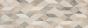 Velkoformátový geometrický dekor CHALK Decoro Origami Butter 25 x 76 cm