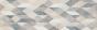 Velkoformátový geometrický dekor CHALK Decoro Origami Grey 25 x 76 cm