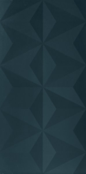 Modrý matný velkoformátový 3D dekor 4D Diamond Deep Blue 40 x 80 cm
