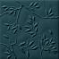 Modrý matný 3D dekor 4D Nature Deep Blue 20 x 20 cm