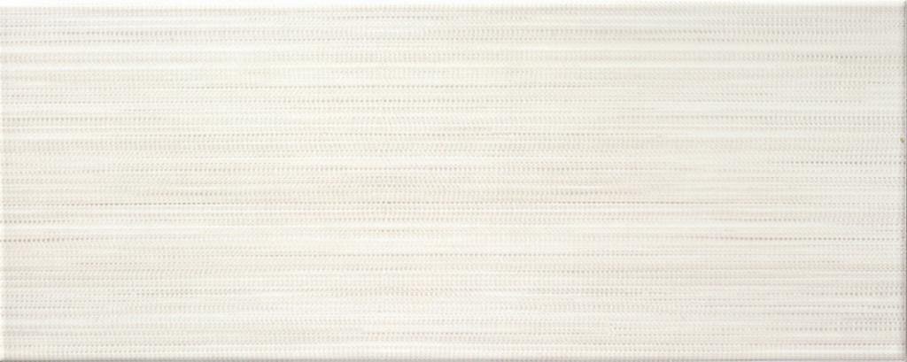 Bílý lesklý interiérový obklad ADORE 52 White 20 x 50 cm