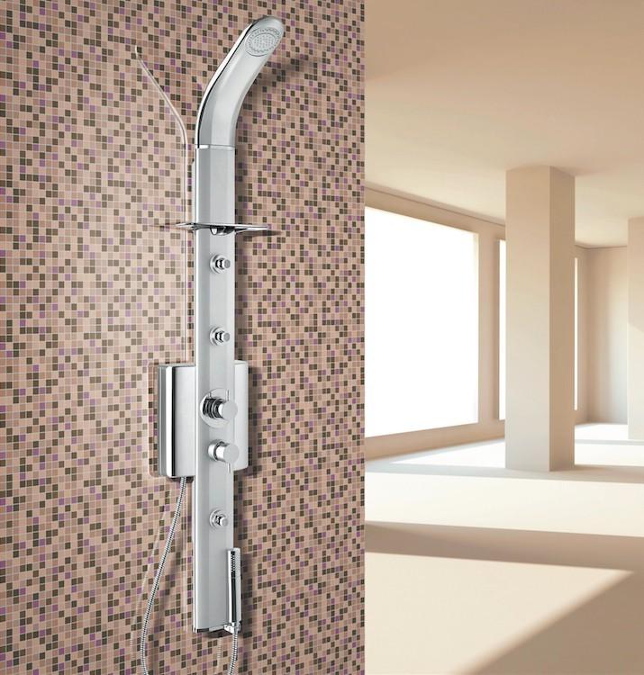 Nástěnný sprchový panel SENZA s pákovou baterií
