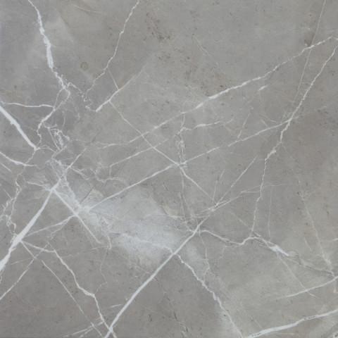 Lesklá dlažba v imitaci mramoru MUSEUM Grey 60 x 60 cm