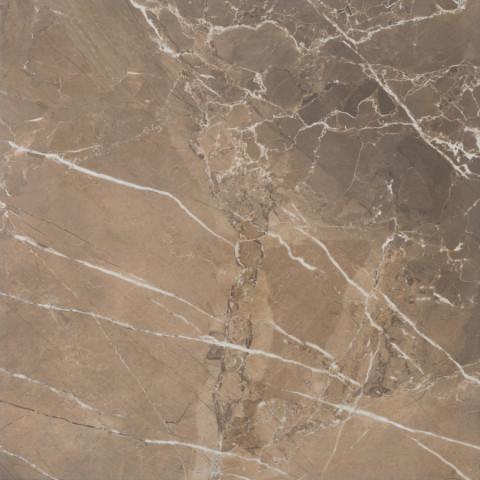 Lesklá dlažba v imitaci mramoru MUSEUM Noce 60 x 60 cm