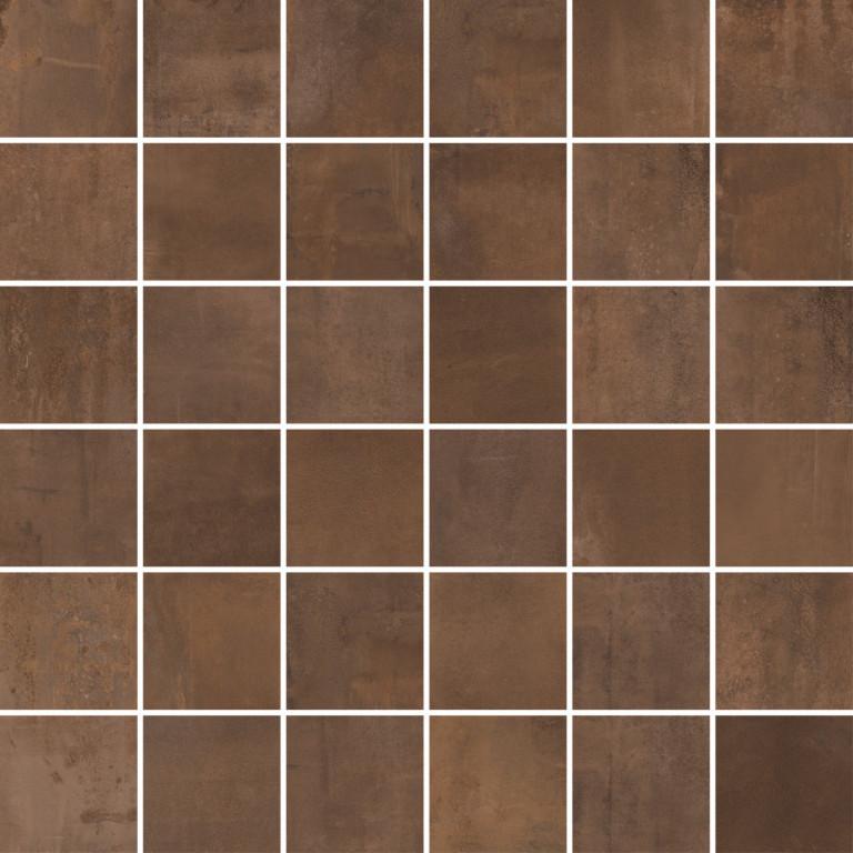 Metalická mozaika INTERNO Rust 30 x 30 cm