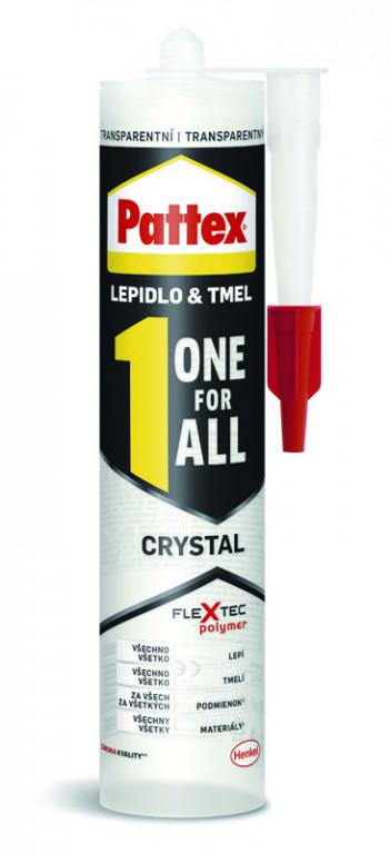 Montážní lepidlo pro extrémní lepení v interiéru i exteriéru Pattex ONE FOR ALL, transparentní