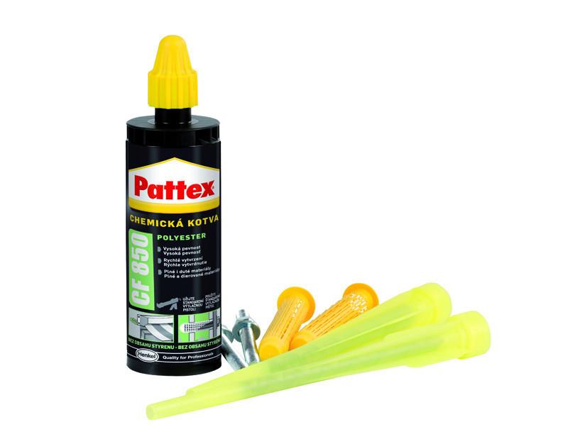 Chemická kotva POLYESTER Pattex CF 850, 165 ml