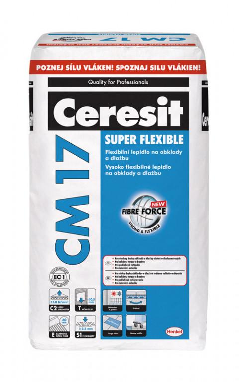Flexibilní lepidlo i pro velké formáty CM 17 Super Flexible 5kg