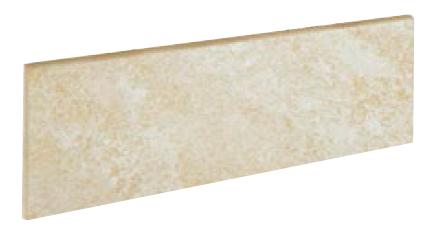 Mrazuvzdorný sokl PETRA Bone 9 x 33 cm