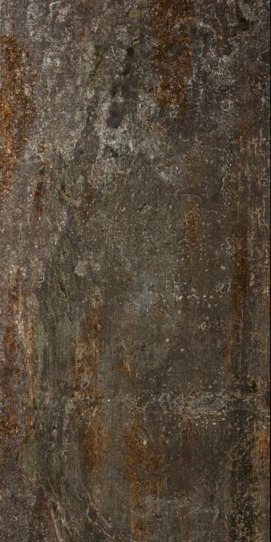 Velkoformátová kovová imitace CAST IRON Oxidum Natural 60 x 120 cm
