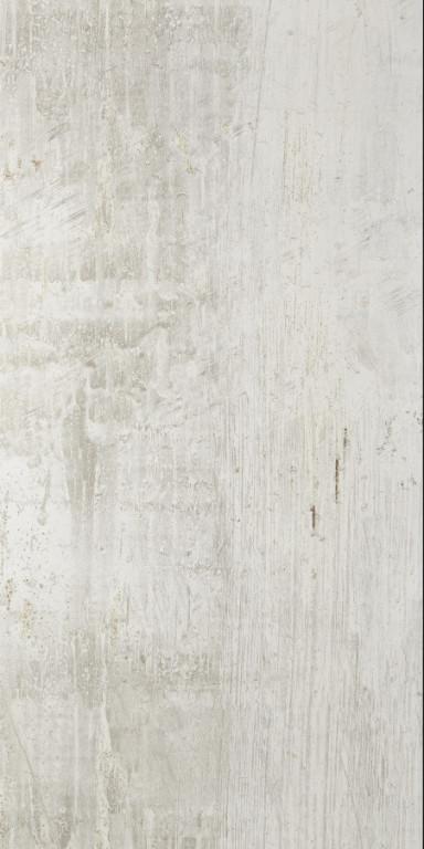 Velkoformátová kovová imitace CAST IRON White Natural 60 x 120 cm